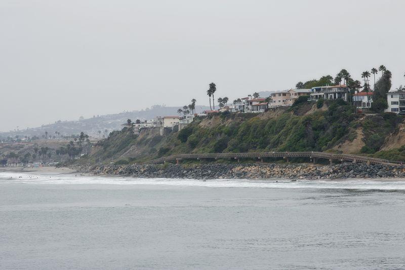 1974 beach view san clemente