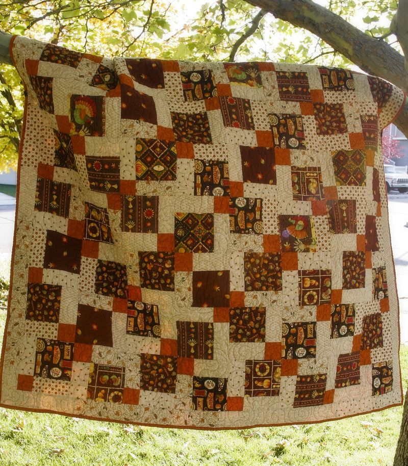 Dis 9 patch quilt