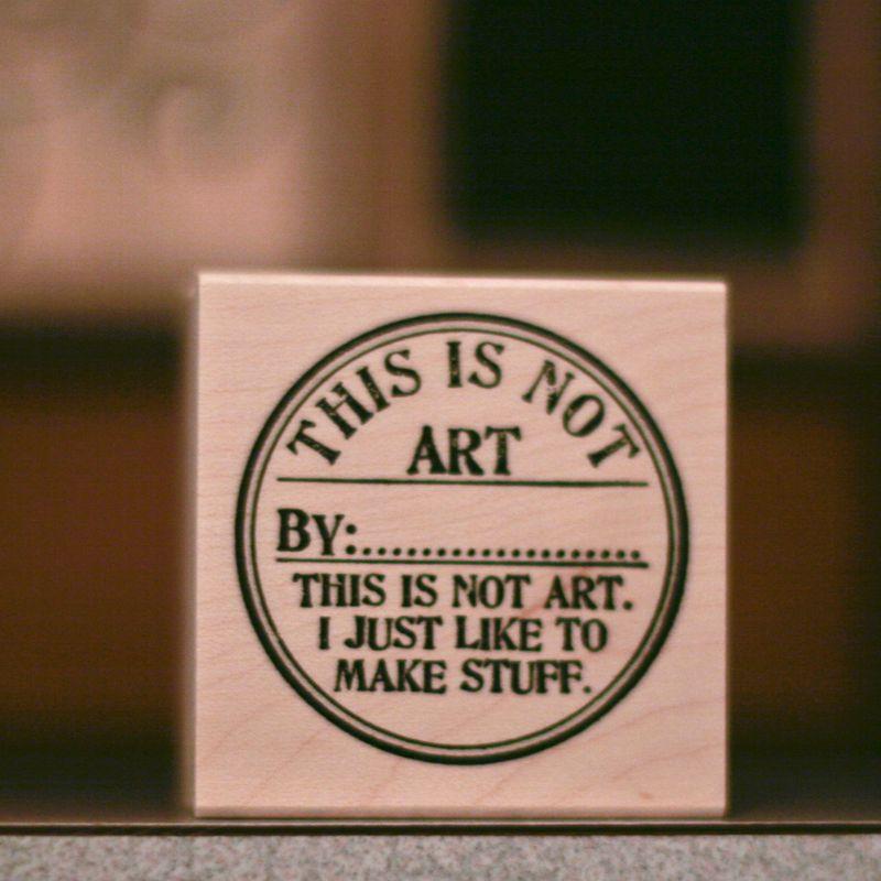 Stamp art