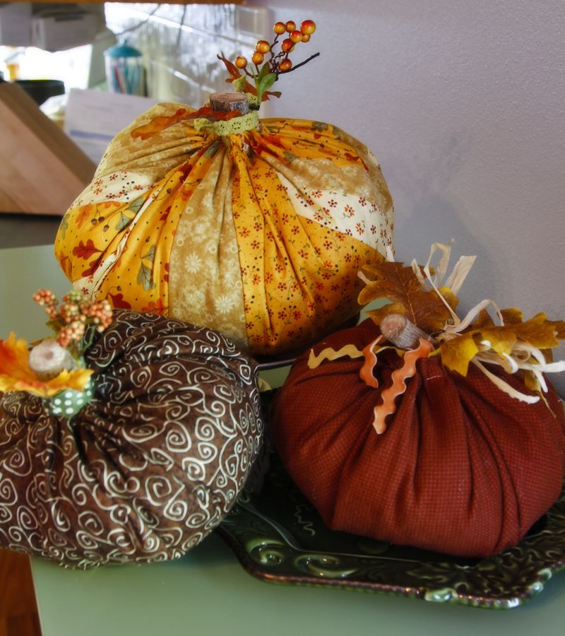 Squishy pumpkins a