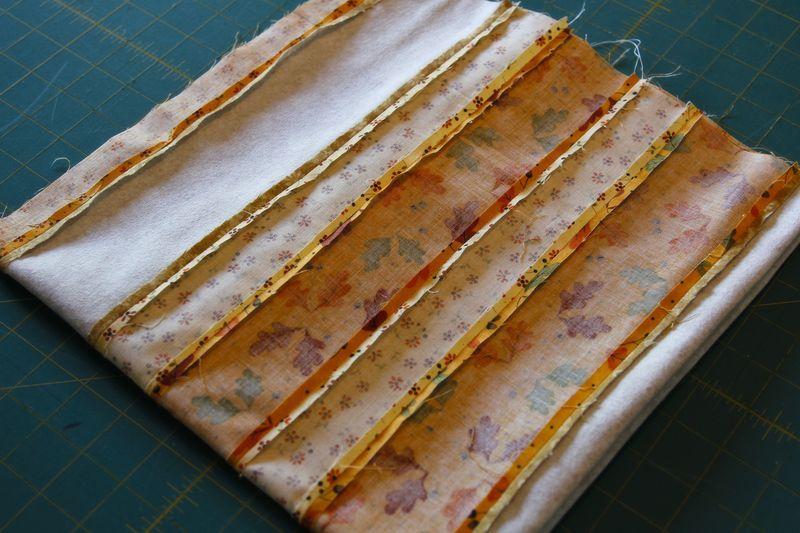 Squishy pumpkins 03 folded sewn square
