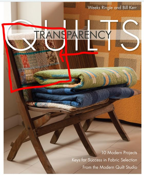 Transparency quilts cover
