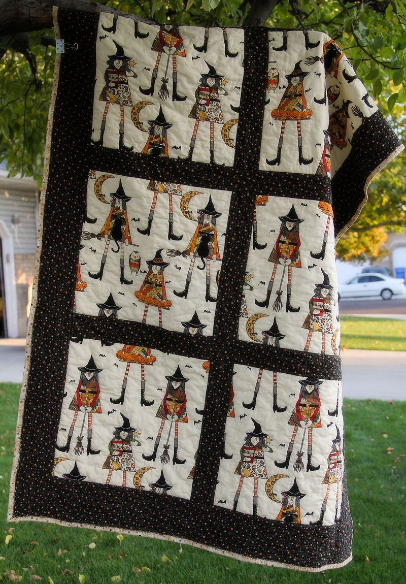 Witch quilt 01