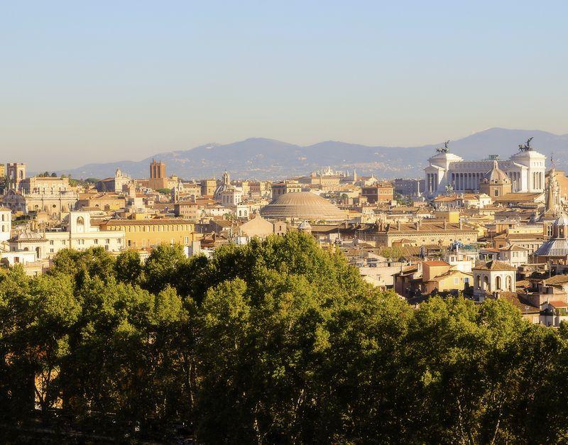 Rome cityscape small amy sorensen