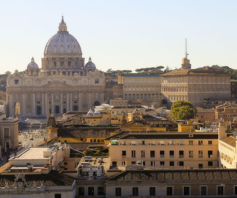 Vatican cityscape small amy sorensen