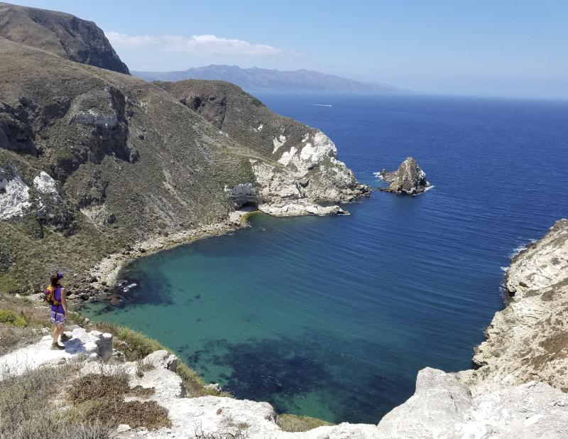 2017 hikes santa cruz island