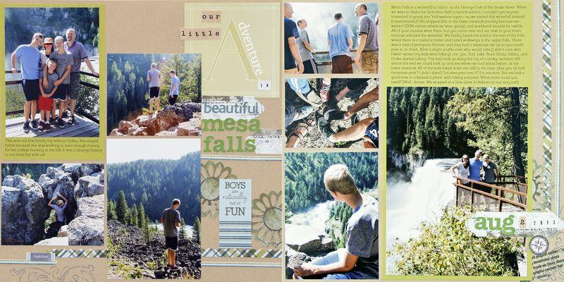 Nathan mesa falls trip 2013