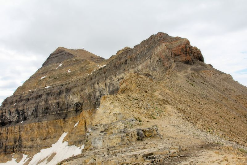 Timp summit from saddle
