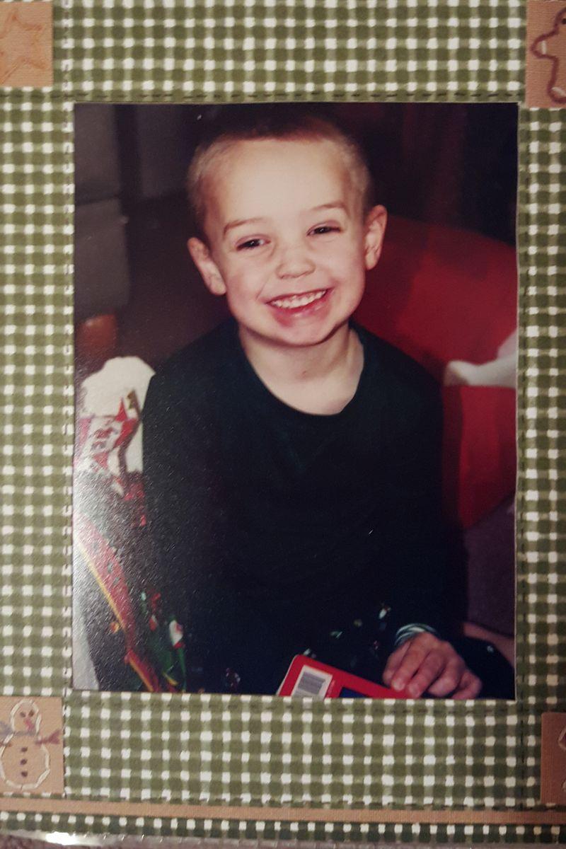 Jake christmas 2001