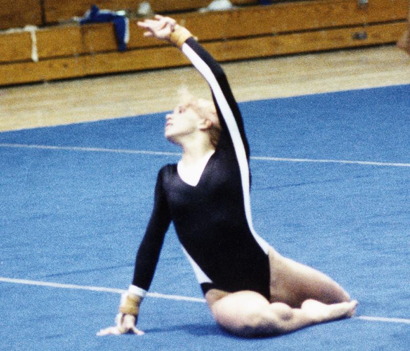 Amy gymnastics 1986