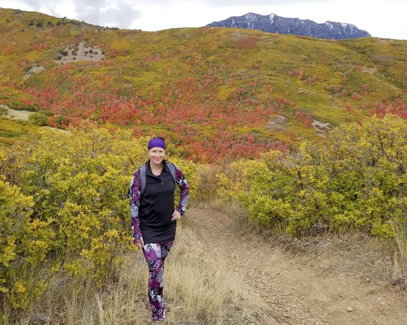 Battle creek overlook hike bush mountain