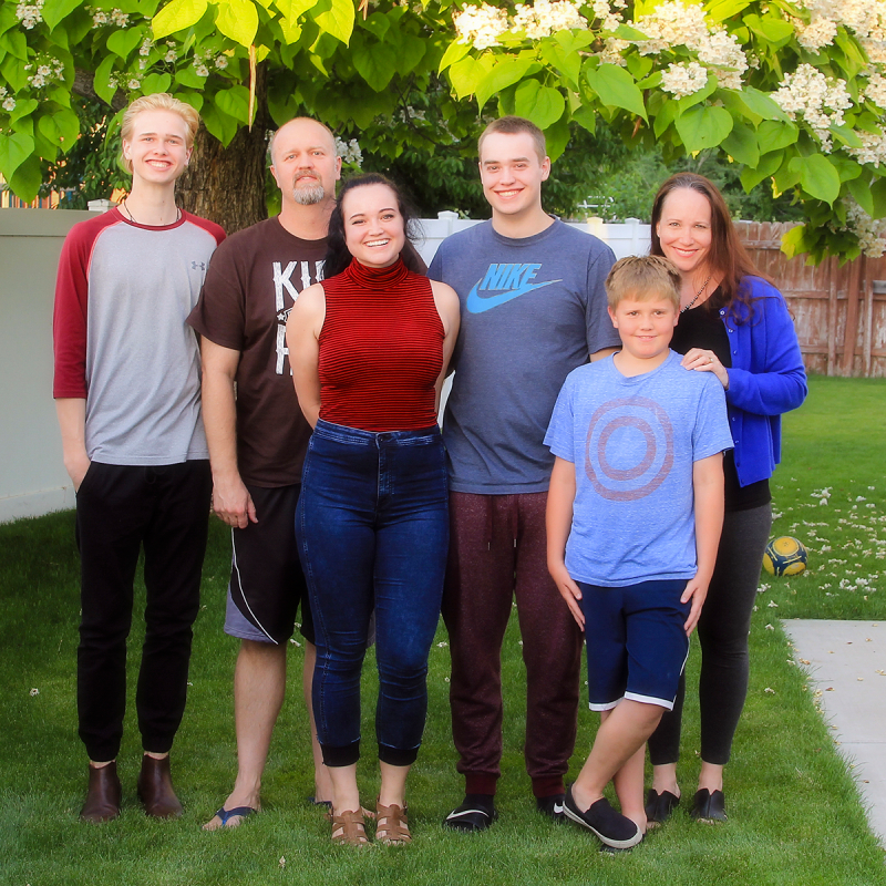 Family picture summer