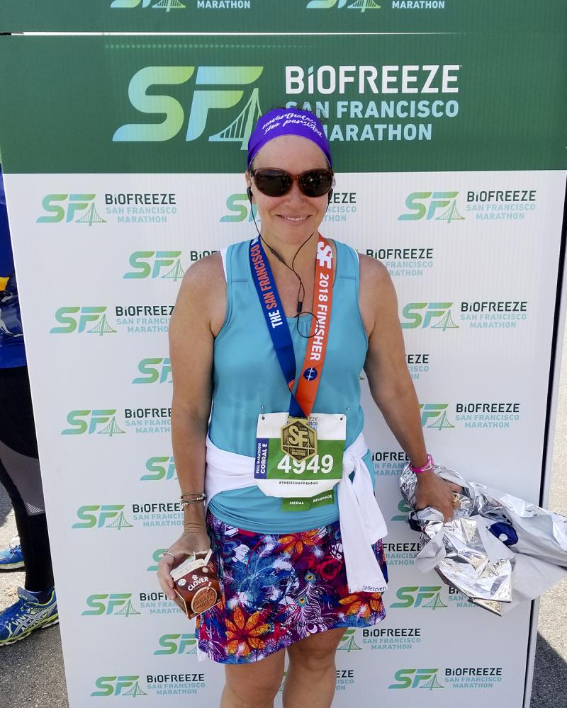 Sf marathon finish