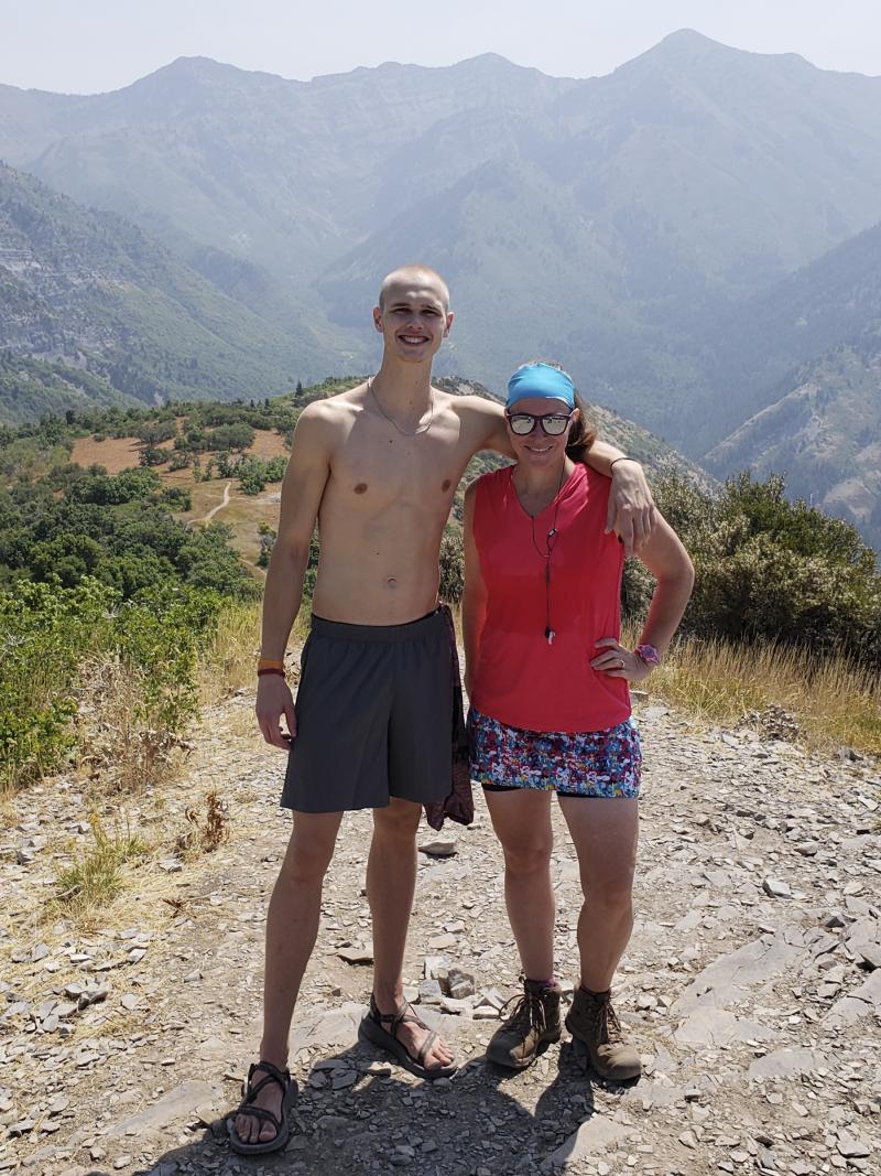 09 hike with nathan