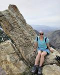 Spring hiking desolation point