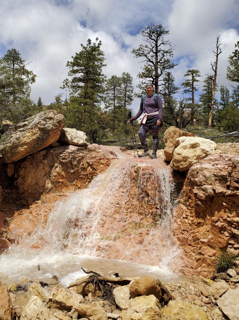 20190523_120508 bryce canyon waterfall amy 6x8