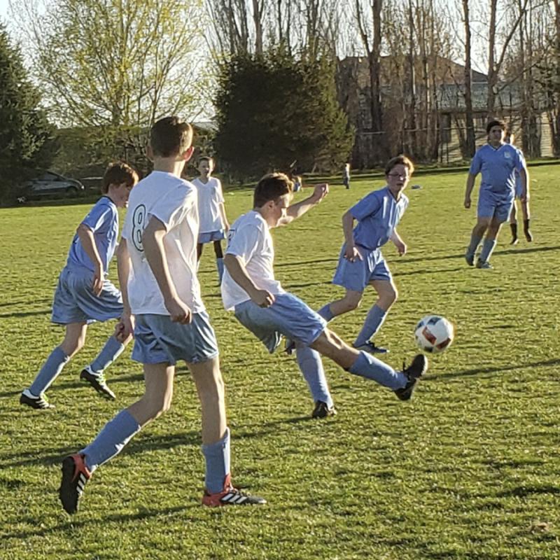 Kaleb soccer