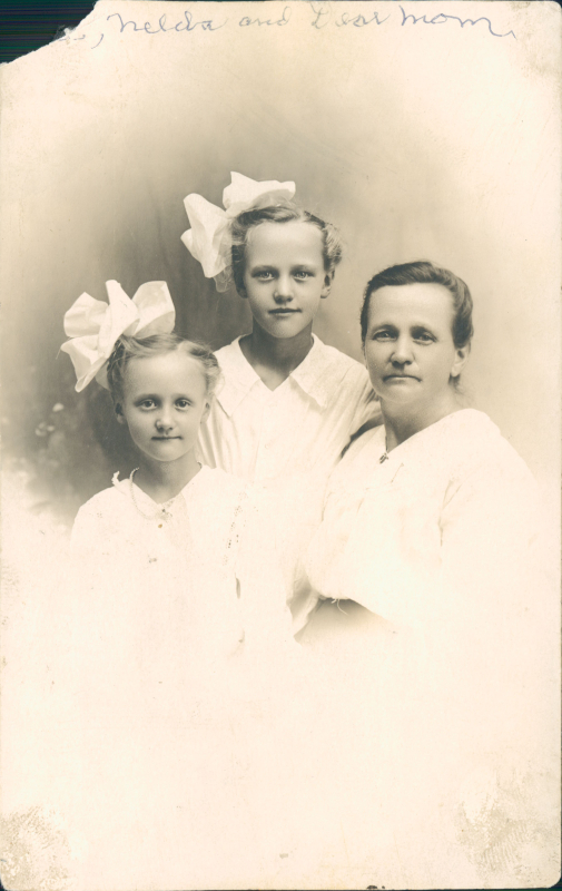 Florence Simmons Kay Nelda May Simmons Christensen Amy Daniels Simmons