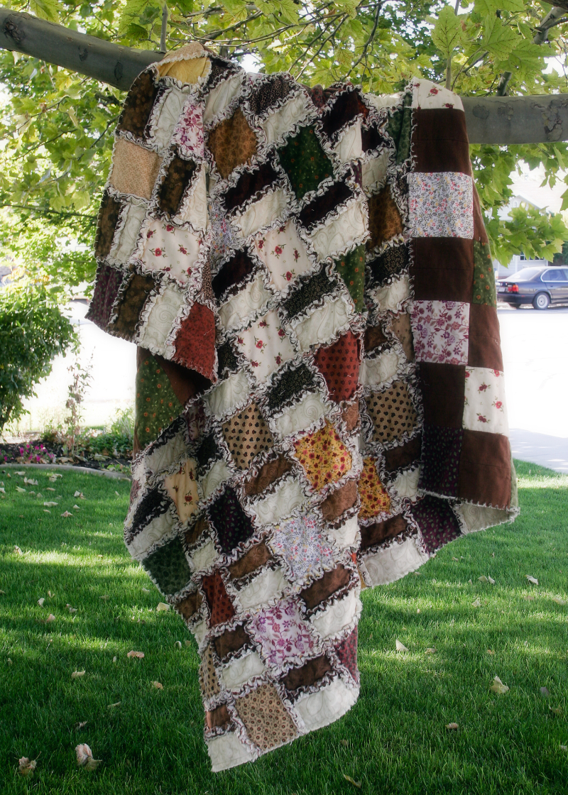 Autumn rag quilt