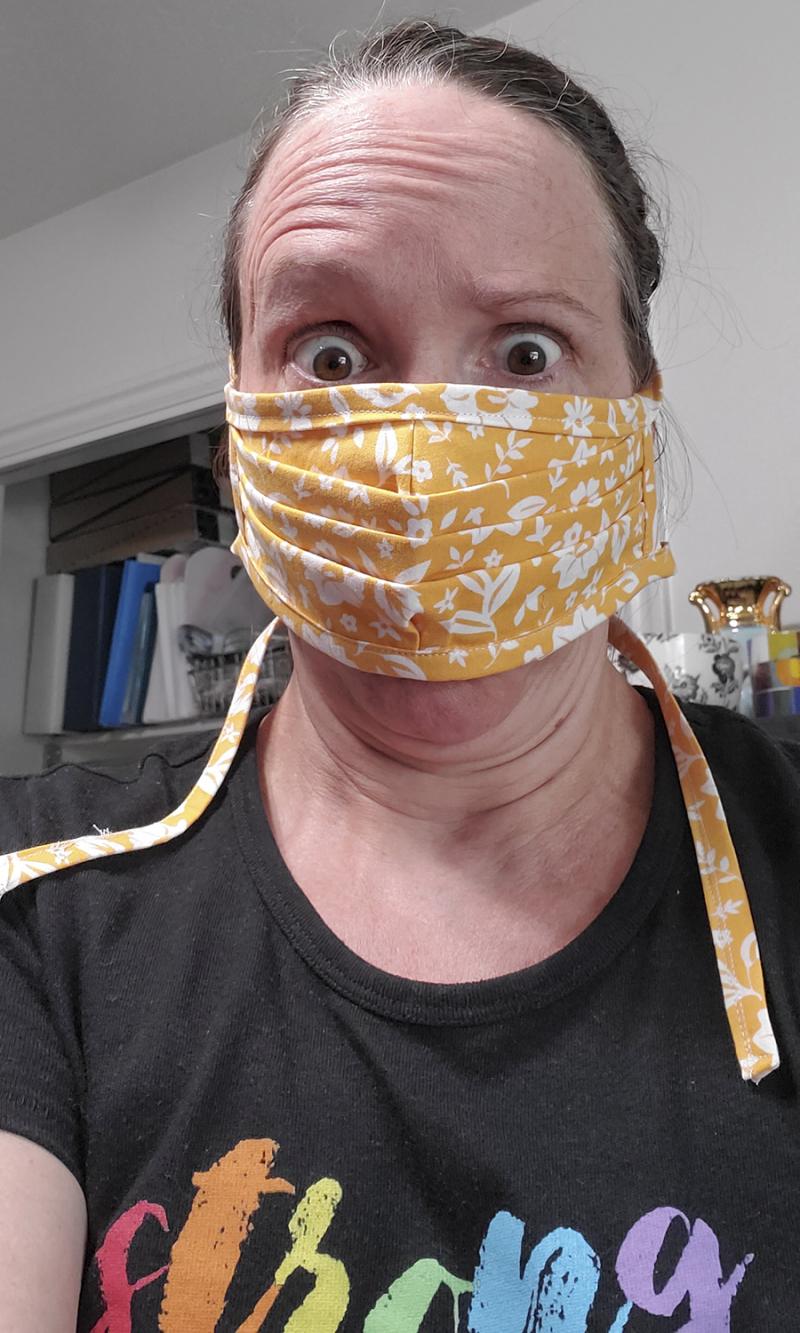 Corona masks panic